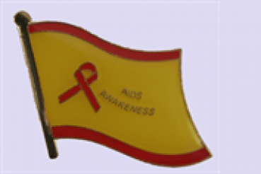Pin Aids Awareness
