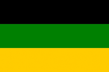 Flagge Fahne ANC (African National Congress) Flagge 90x150 cm