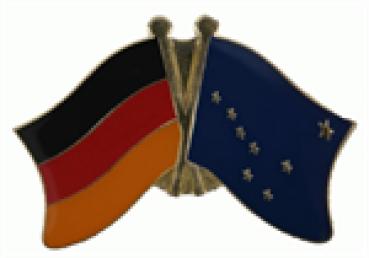 Freundschaftspin pins Deutschland Bretagne Fahne Anstecker Button Metall NEU