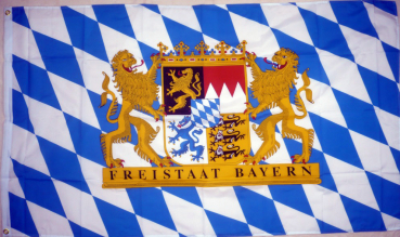 Flagge Fahne Bayern Freistaat 90x150 cm