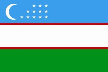 Bildergebnis für flagge usbekistan