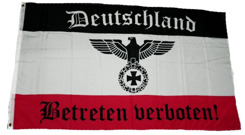 flaggenparadies flagge fahne deutschland betreten. Black Bedroom Furniture Sets. Home Design Ideas