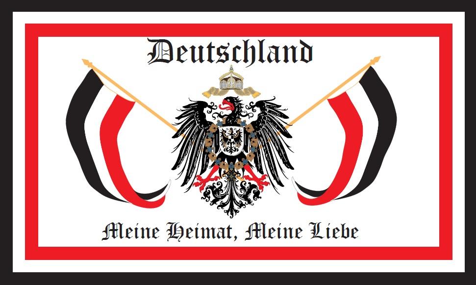 flaggenparadies flagge fahne meine heimat meine liebe reichsadler deutsches reich. Black Bedroom Furniture Sets. Home Design Ideas