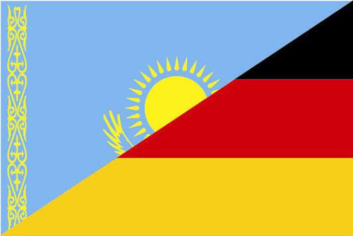 Flagge Fahne Kasachstan Hissflagge 150 x 250 cm