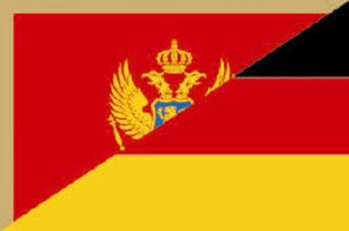 Fahne Flagge Montenegro 30 x 45 cm