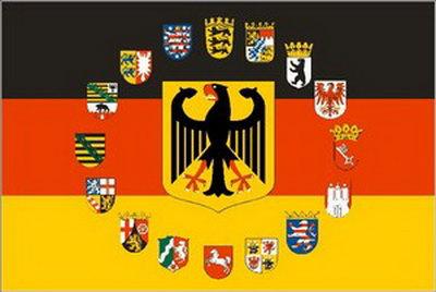 Flaggenparadies Deutschland Flagge Mir Adler Und Wappen Aller 16