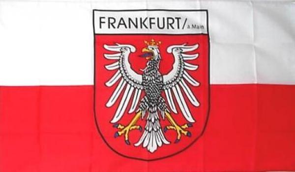 Flagge Frankfurt